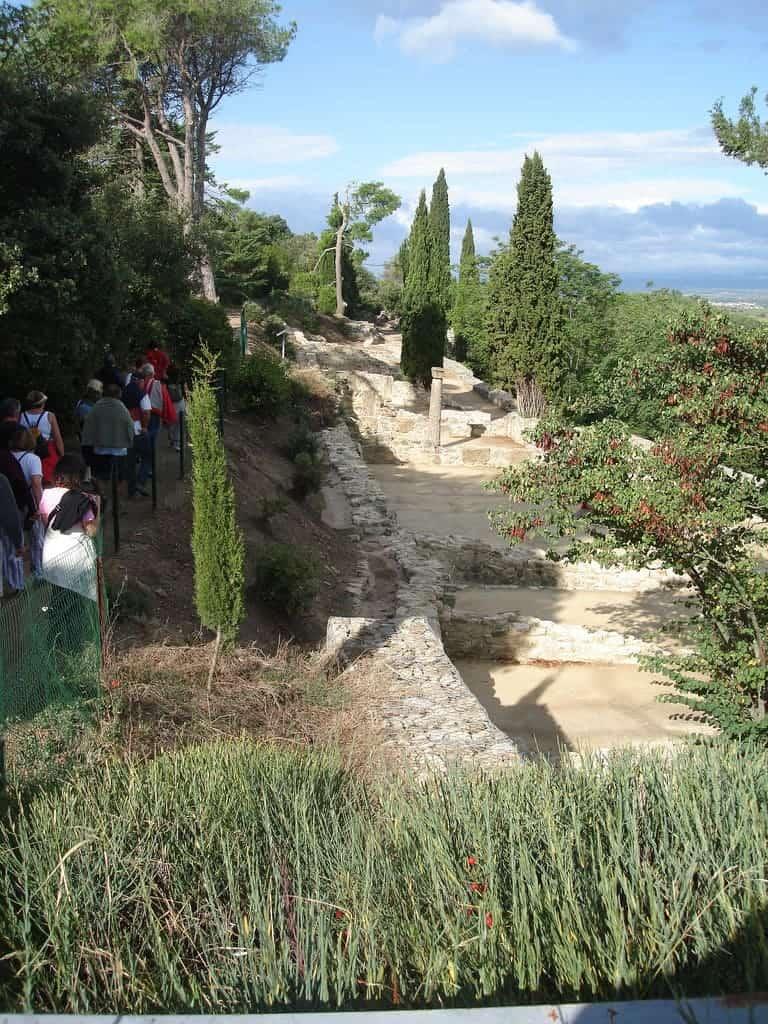 Fouilles de L'oppidum d'Ensérune